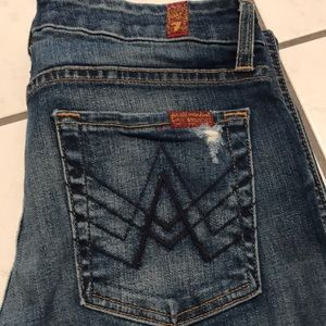 "7 For All Mankind Stretch ""A"" Pocket Jeans"